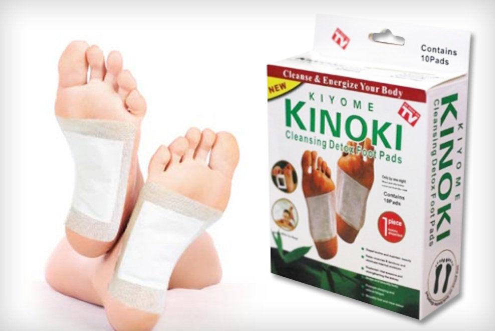 Детоксикационный пластырь для стоп kinoki detox отзывы