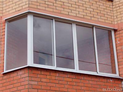 Балконы -остекление утепление от компании домашний мастер му.