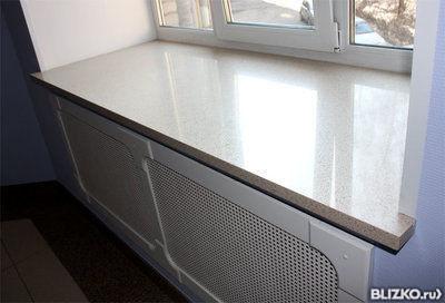 Подоконники из искусственного камня нн столешница для кухни ширина 700 мм