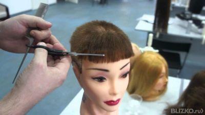 Как коротко подстричь женщину в домашних условиях 741