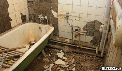 демонтаж и вывоз ванн кимры