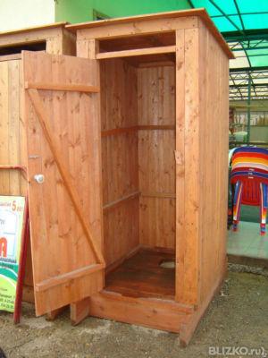Дачный туалет деревянный купить
