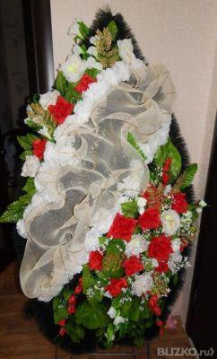 Фото венки из искусственных цветов