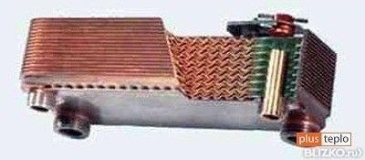 Из какого материала теплообменник у bosch gwh прокладка на теплообменник пассат 5