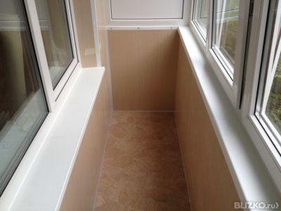 Утепление балконов и внутренняя отделка. от компании новый у.