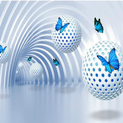 3D обои Серый фон из мелких треугольников от компании АНИКА купить в городе Санкт-Петербург